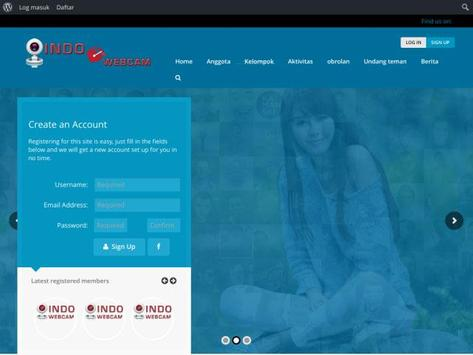 IndoWebcam Kenalan Online Free apk screenshot