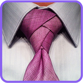 How to Tie a narrow tie icon