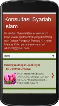 Konsultasi Syariah Islam poster