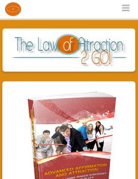 Law of Attraction 2 GO! poster