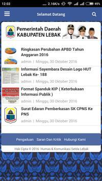 Kabupaten Lebak apk screenshot