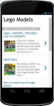 Models for Lego poster