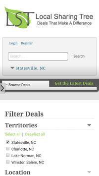 Local Sharing Tree Deal Site apk screenshot