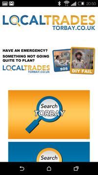 Local Trades South Devon poster
