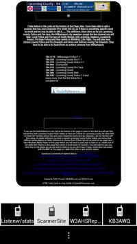 Lycoming County Scanner Feed apk screenshot
