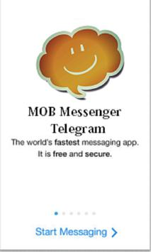 MOB Telegram Messenger apk screenshot