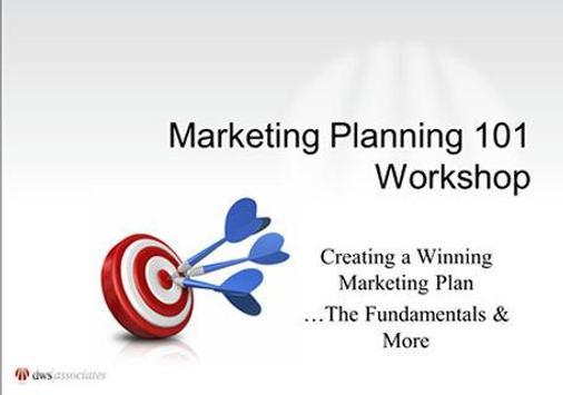 Marketing Planning 101 poster