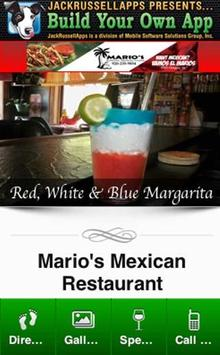 Marios Mexican Restaurant poster