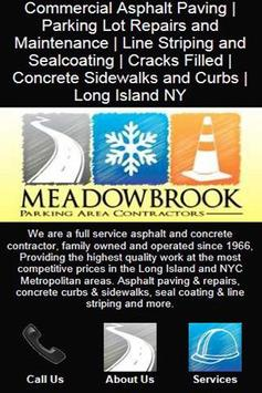 Meadowbrook Paving Contractors poster
