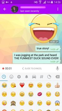Messengeroid Messenger apk screenshot