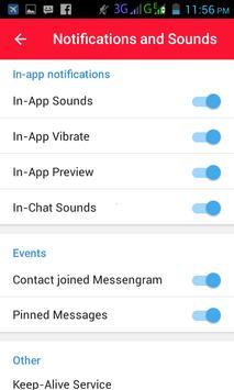 Messengram apk screenshot