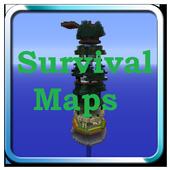 Survival maps for Minecraft PE icon