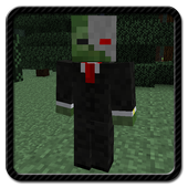 Minecraft PE zombi mod, maps icon