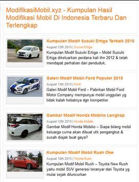 Modifikasi Mobil apk screenshot