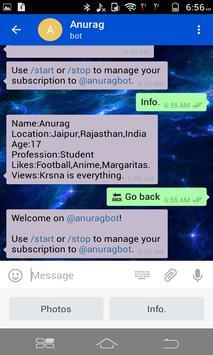 NOM Messenger poster