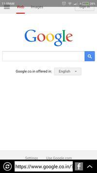 Net Browser Free apk screenshot