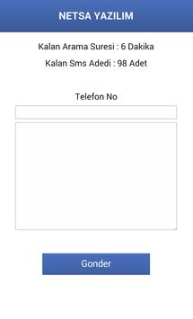 NETSA SMS apk screenshot