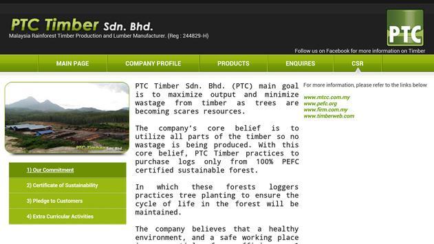 PTC TIMBER.LUMBER apk screenshot