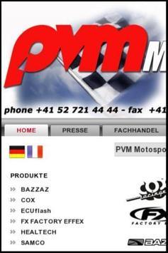 PVM Motosport poster