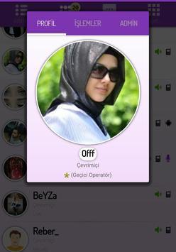 Sesli Sohbet apk screenshot