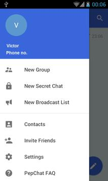 PepChat apk screenshot