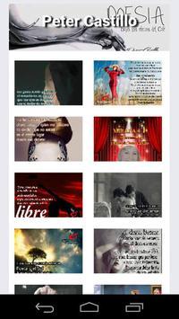 Poesia de Peter Castillo apk screenshot