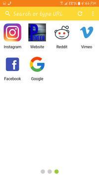Piveeo Browser apk screenshot