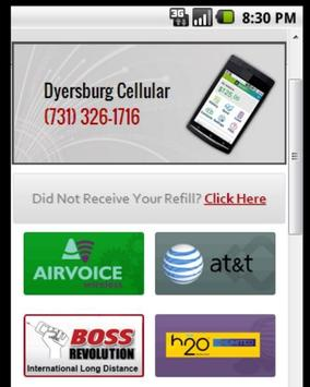 Prepaid Cellular Payments poster