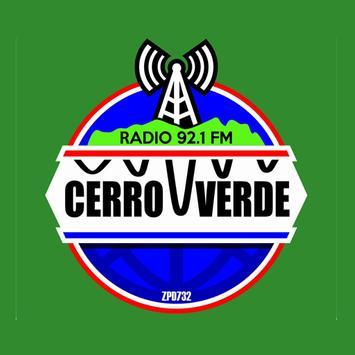RADIO CERRO VERDE poster