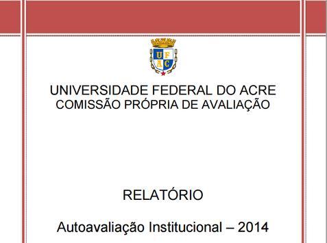 Relatório CPA - Ufac poster