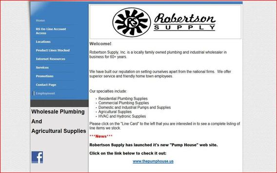 Robertson Supply, Inc. poster