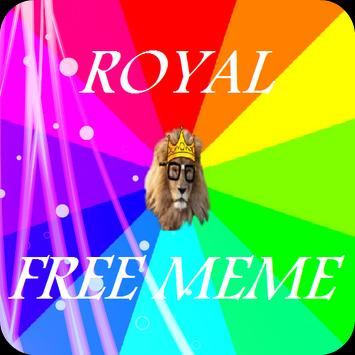 Royal Meme poster