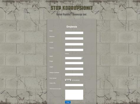 Stop Korrupsionit apk screenshot