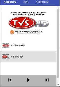 StudioFM y TVS HD apk screenshot