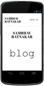 Sambhav Ratnakar poster