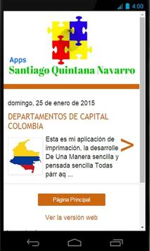 Apps Santiago Quintana Navarro poster