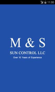 M & S Sun Control poster