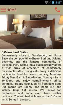 O'Cairns Inn & Suites apk screenshot