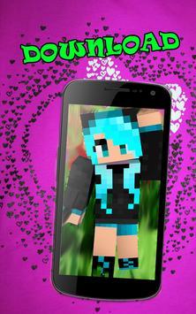 Girls skins for minecraft apk screenshot