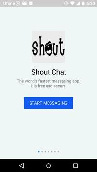 Shout Chat apk screenshot