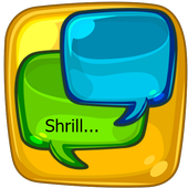 Shrill icon