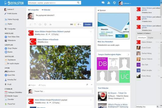 Sosyal Paylaşım - Sosyalsitem apk screenshot