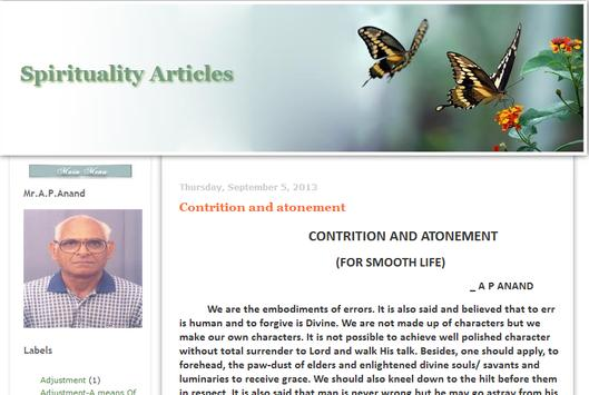 Spirituality Articles poster