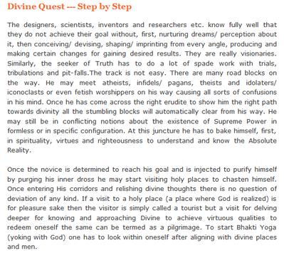 Spirituality Articles apk screenshot