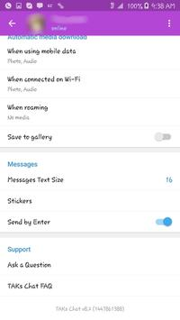 TAKs Chat apk screenshot