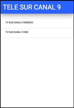 TV SUR CANAL 9 DE COSTA RICA poster