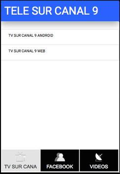 TV SUR CANAL 9 DE COSTA RICA apk screenshot