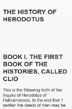 THE HISTORY OF HERODOTUS apk screenshot