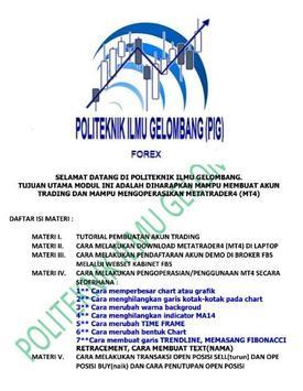 Tutorial Forex MT4 poster