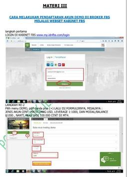 Tutorial Forex MT4 apk screenshot